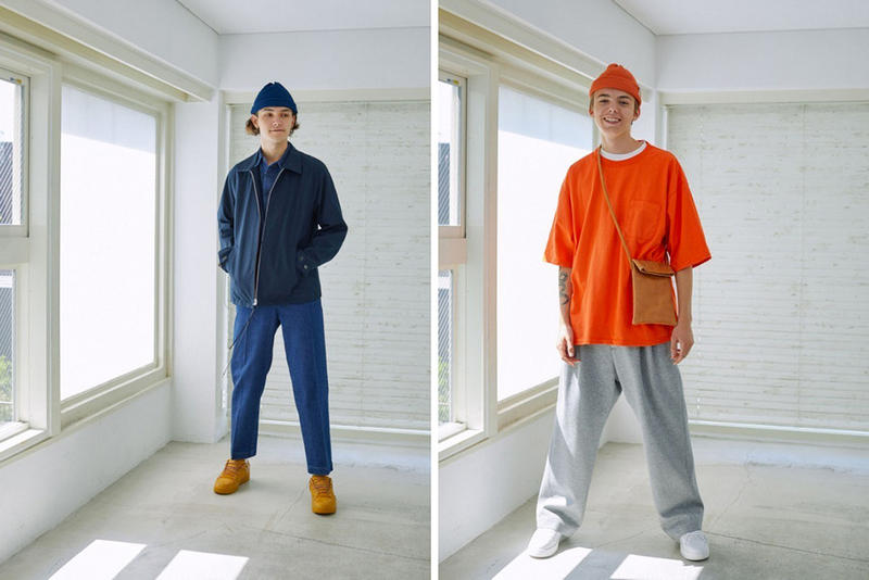 Universal Products Spring Summer 2019 SS19 Collection Lookbook Japanese Brand Basic Minimalist