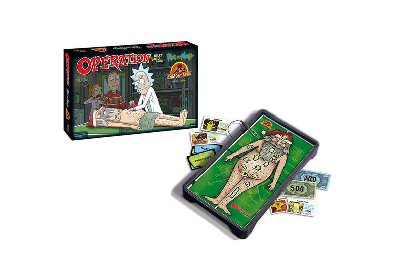 Usaopoly Rick and Morty Edition Operation Board Game Dr. Xenon Bloom