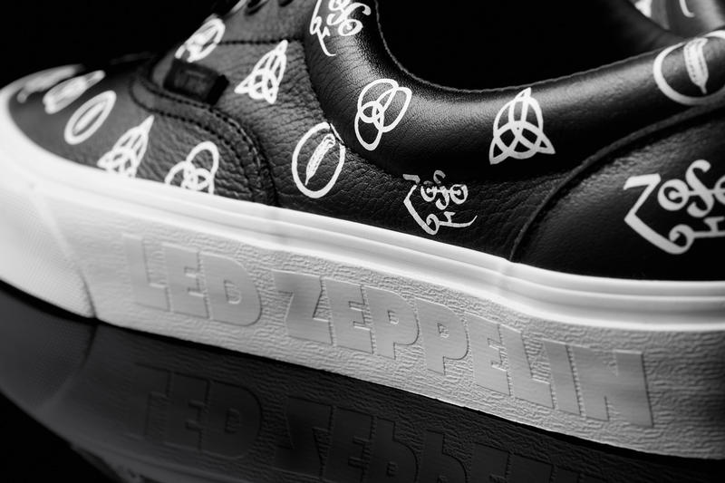 Vans led zeppelin 50th anniversary capsule collection