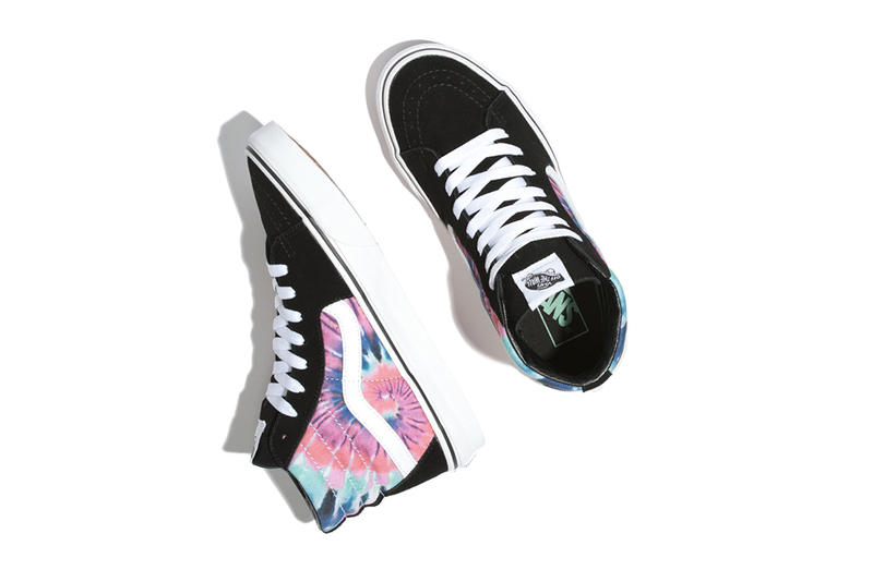 Vans Slip On Old Skool Authentic First Look Release Date Tie-Dye Embroidery Details Buy Purchase