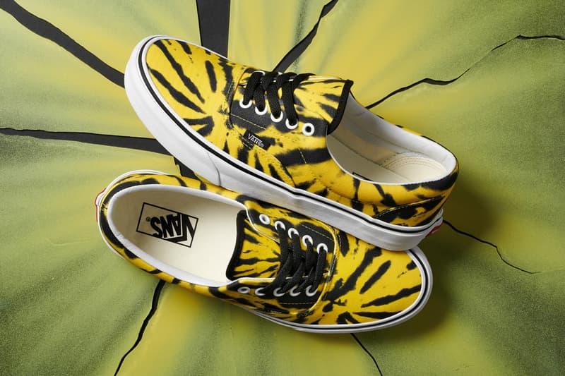 vans tie dye era sneaker footwear pack collection release
