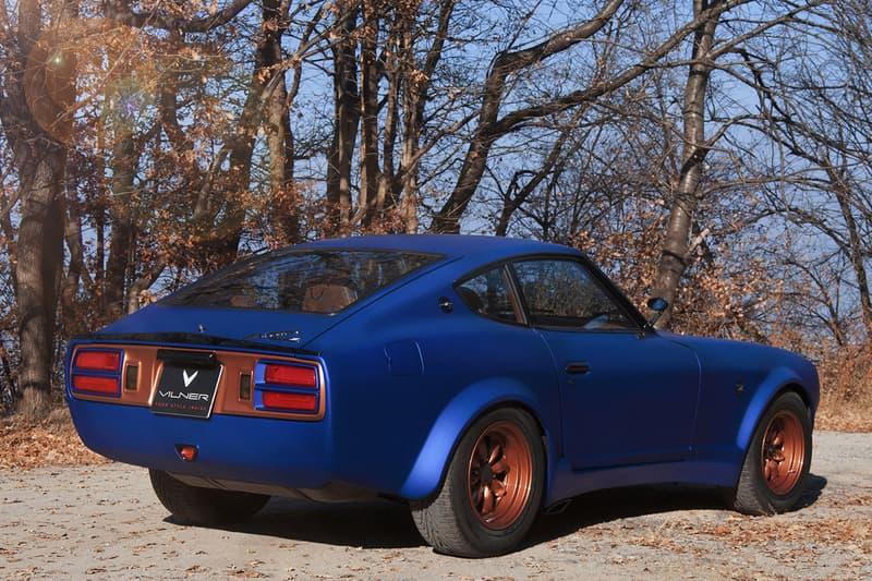 Vilner 1976 Datsun 280z Info Closer Look Blue Devil Z Nissan s30