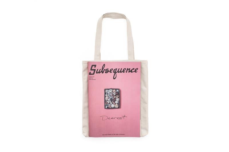 visvim to Release Subsequence Merchandise White Shirt Tote Bag Magazine visvim release info drop date price pricing 0619905010001 JUMBO TEE S/S (SUB) USD 195  0619905010002 JUMBO TEE S/S (Subsequence) USD 195  0619903003001 CANVAS TOTE (SUB) USD 230