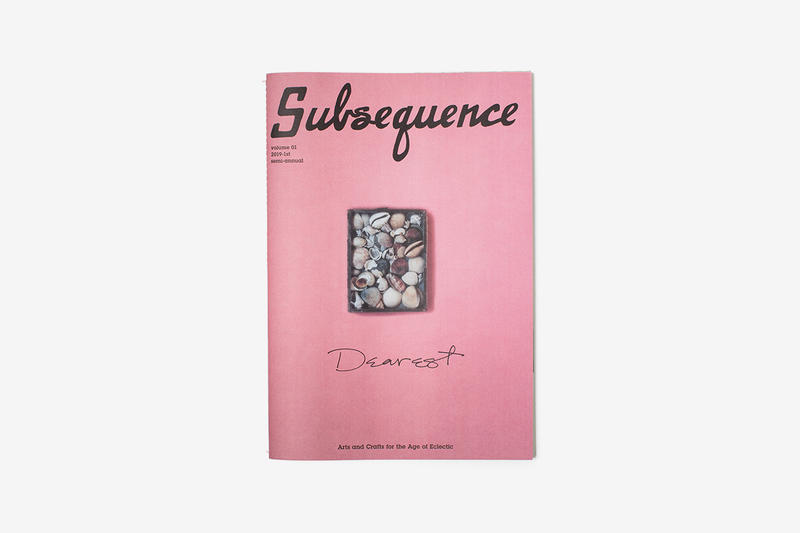 visvim Subsequence Magazine Volume 1 The Dearest Issue Release Info Date Hiroki Nakamura
