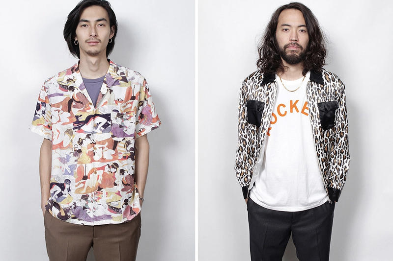 Wacko Maria Spring/Summer 2019 Lookbook First Look Prints Japanese Fashion Leopard Print Guilty Parties