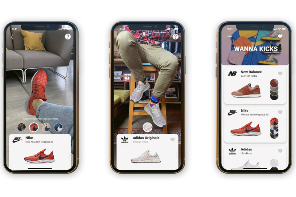 Wanna Kicks Augmented Reality App Sneaker Try On | HYPEBEAST