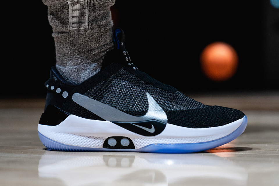 hot sale online 6e482 a7850 Nike Adapt BB Sneakers Get Cut Open in This Video