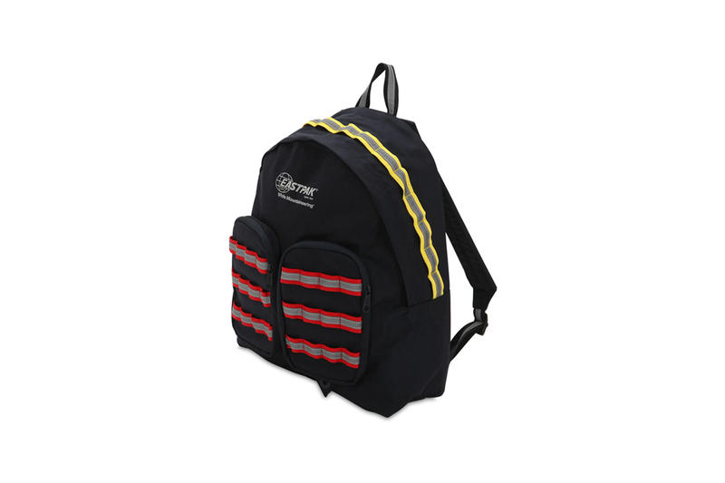 White Mountaineering Taps EASTPAK for Functional Backpack black grey orange yellow info images price accessories bag luisaviaroma