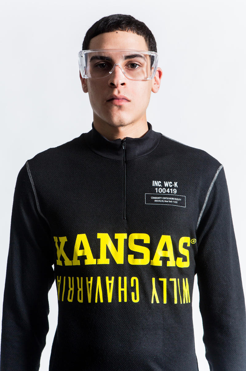 Willy Chavarria Fall Winter 2019 Kansas Collaboration collection lookbook