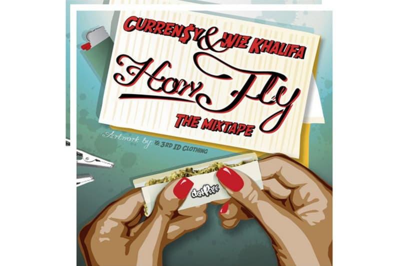 "Wiz Khalifa & Curren$y ""How Fly"" Mixtape Stream 2009 stream debut spotify golden era album"