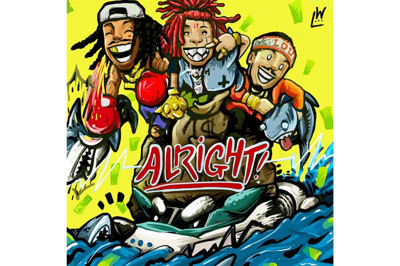 Wiz Khalifa Alright Single With Trippie Redd And Preme hip-hop rap music