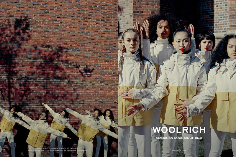 woolrich spring summer 2019 campaign american soul since 1830 lookbook nyu tisch school of the arts student professors models