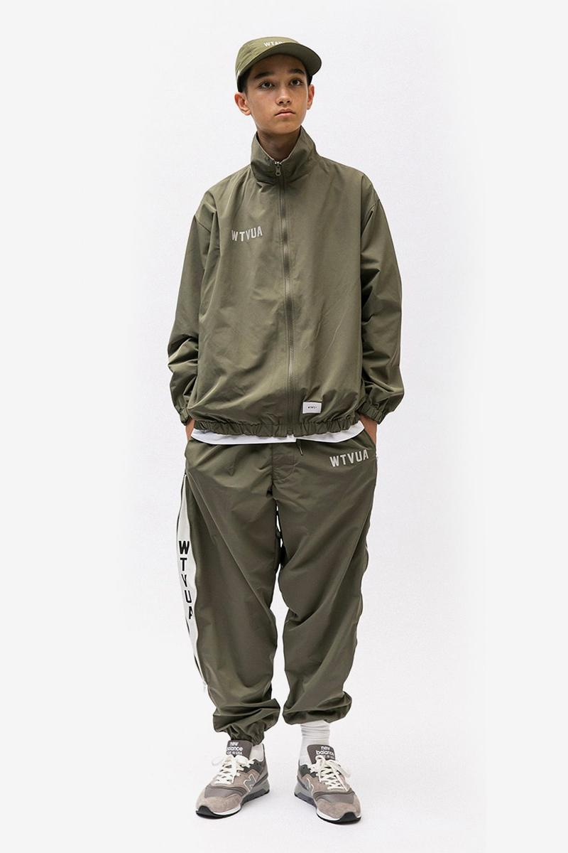 Wtaps SS19 Collection Lookbook jackets parkas m-65 baseball jersey army vintage