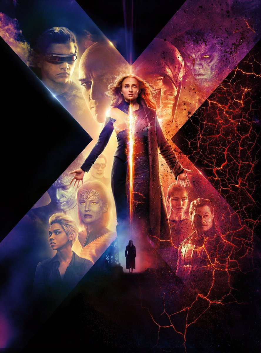 'X-Men: Dark Phoenix' Trailer Shows Jean Grey's Rebirth marvel fox Sophie Turner
