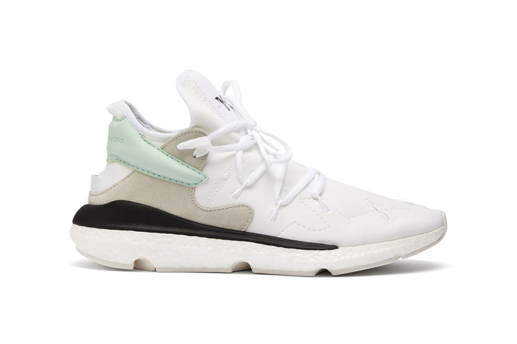 520384d3dbe Y-3 Kusari II Neoprene Sneakers Drop in Minty Fresh Colorway