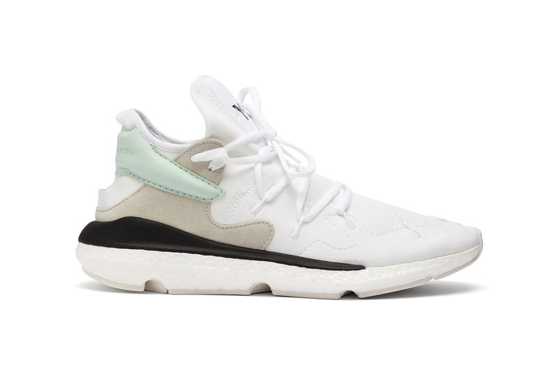 y3 kusari ii neoprene sneakers mint green pastel colorway release matchesfashion