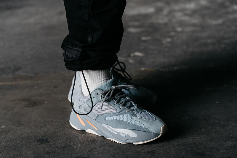 various colors 30de5 6d03f yeezy boost 700 inertia on foot feet release date info drop buy colorway  randy galang march