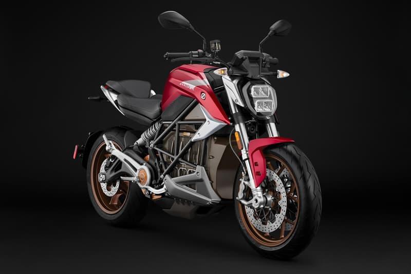 ZERO Debuts Its SR/F Electric Streetfighter Bike  electric bike motorcycle speed racing street bike motorcycles