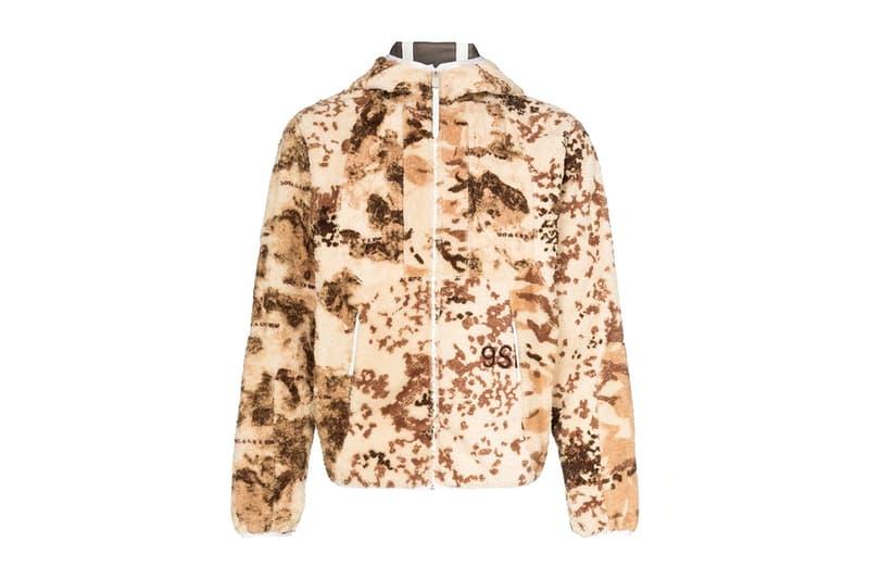 1017 ALYX 9SM Fredrik Polar Fleece Jacket Release Brown Camo