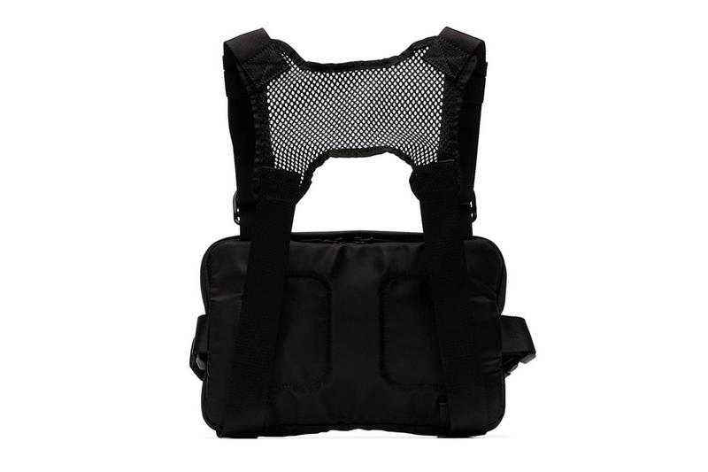 1017 ALYX 9SM Leather Mesh Chest Rig Release Spring Summer 2019