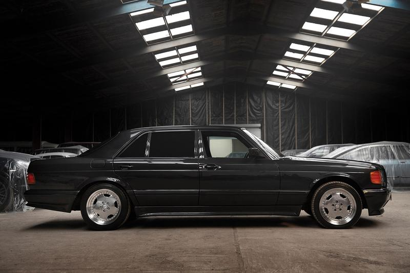 1991 Mercedes-Benz 560 SEL 6.0 AMG Auction RM Sotheby's 6.0-litre 32v DOHC 'Hammer' european-spec blue-black metallic paint WDB1260391A537226