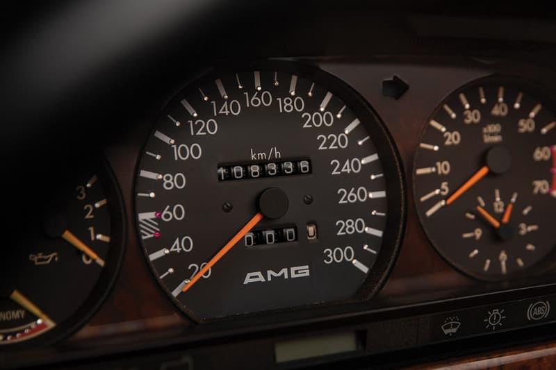 1991 Mercedes-Benz 560 SEL 6.0 AMG Auction RM Sotheby's 6.0-litre 32v DOHC 'Hammer' european-spec blue-black metallic paint WDB1260391A537226