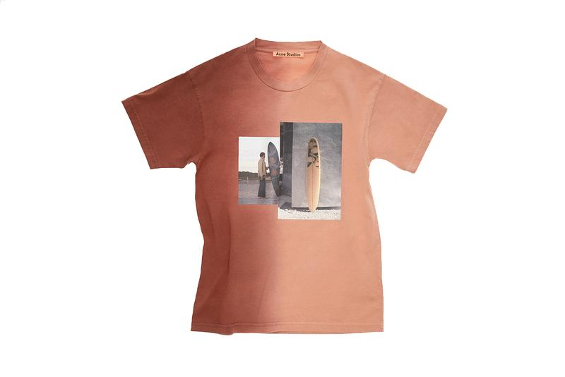 Acne Studios Robin Kegel T-Shirt Capsule Collection Spring Summer 2019 SS19 Surf Inspired Release Drop Date April 18 Online In Store Special Edition psychedelic