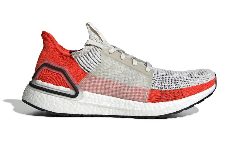 135d0b0e0 adidas UltraBOOST 2019 Spring Summer SS19 Active Orange Chunky Boost Unit  Extra Cushioning Technology NASA White