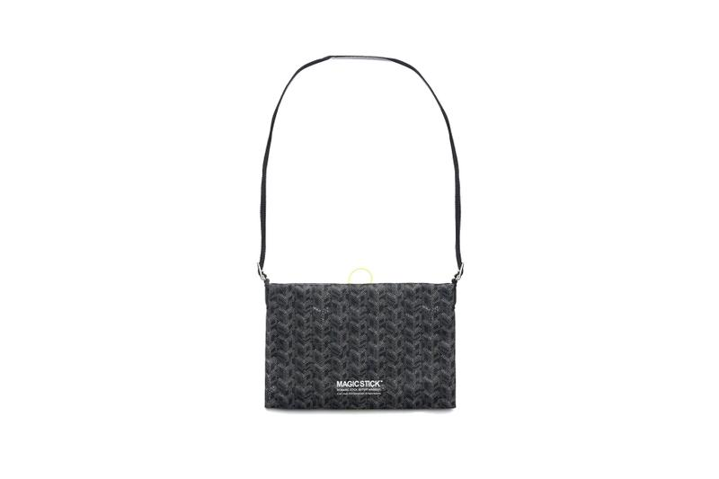 Magic Stick Luxe Sacoche With Goyard Parody Pattern bag where to buy release 2019 price