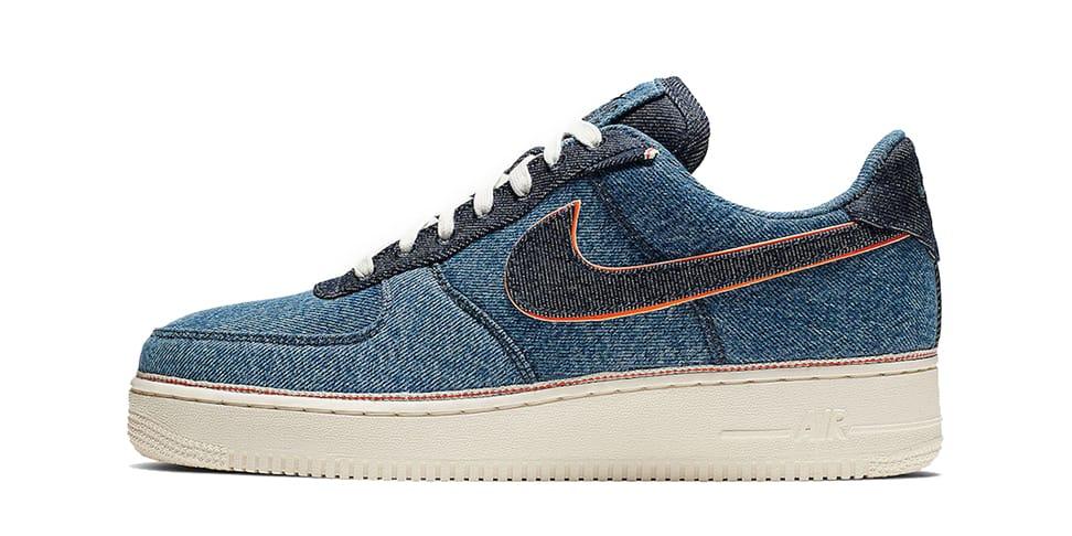 3x1 x Nike Air Force 1 Denim Release