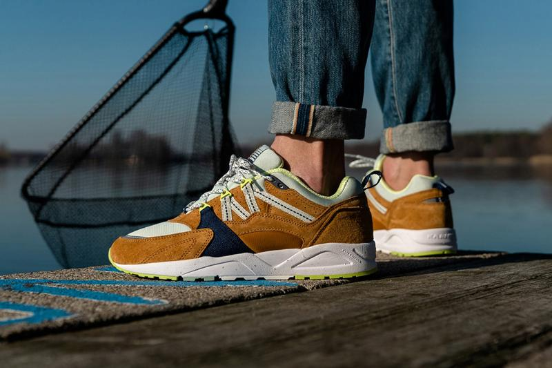Karhu Fusion 2.0 Sneaker Release Details Date Catch of the Day Pack Capsule Collection Green Orange Grey Blue Cop Buy Purchase Trainer