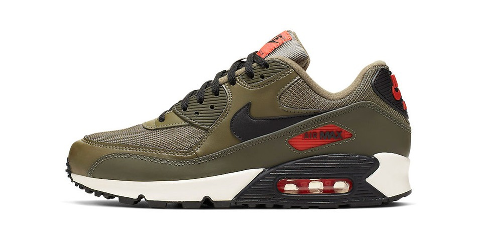 bd273e6767879 Nike Air Max 90 Essential Khaki Green Colorway