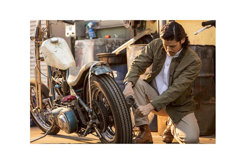 rats japanese menswear fashion denim motorcycle car mechanic spring summer workwear vintage americana Spring/Summer 2019 SS19 Lookbook Collection