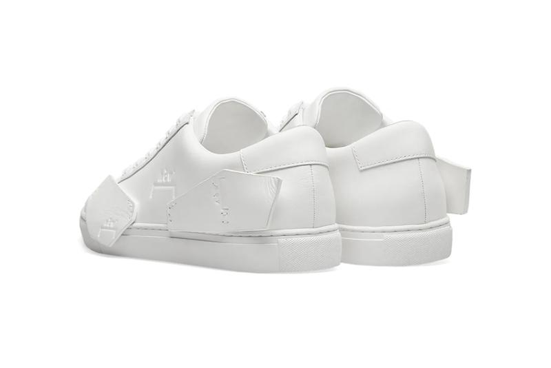 a cold wall shard low white panelled leather sneaker release samuel ross end clothing
