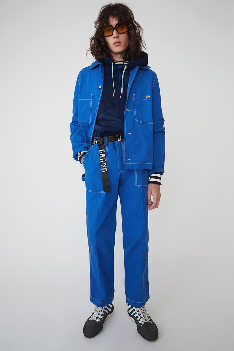 Acne Studios Spring/Summer 2019 Denim Collection Bia Konst Lookbook Fashion Clothing Cop Purchase Buy 90s Americana Workwear Swedish Designer Straight Leg Clean USA Sweden Scandinavian