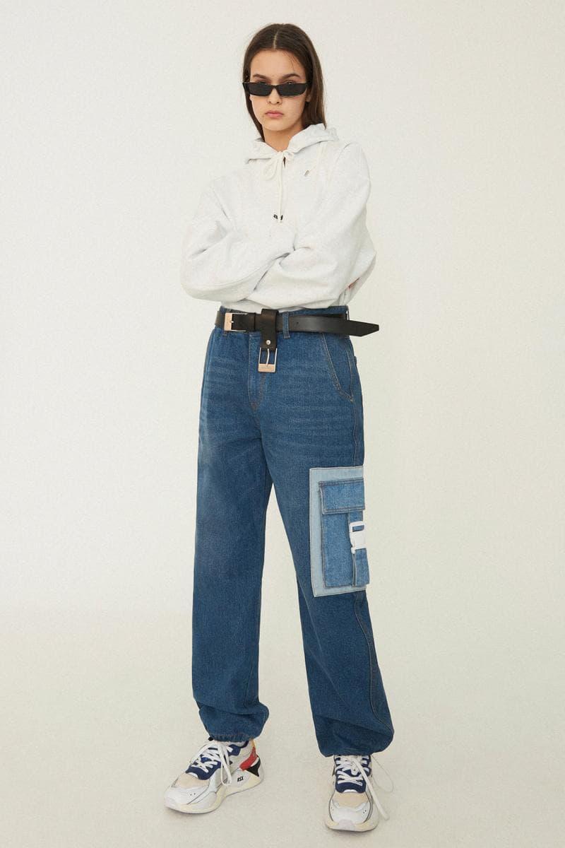 "ADER error Spring/Summer 2019 ""Arrow"" Collection Lookbook unisex fashion Korean brand imprint south korea seoul PUMA shirtings trousers overcoats trench coats outerwear denim t-shirts basics release info drop date stockist"