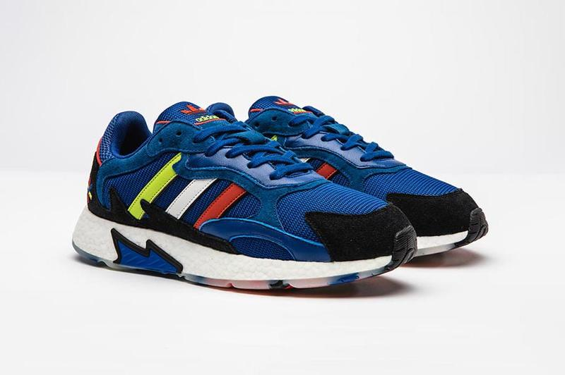 adidas Originals & Foot Locker Debut Dark Blue TRESC Run Colorway