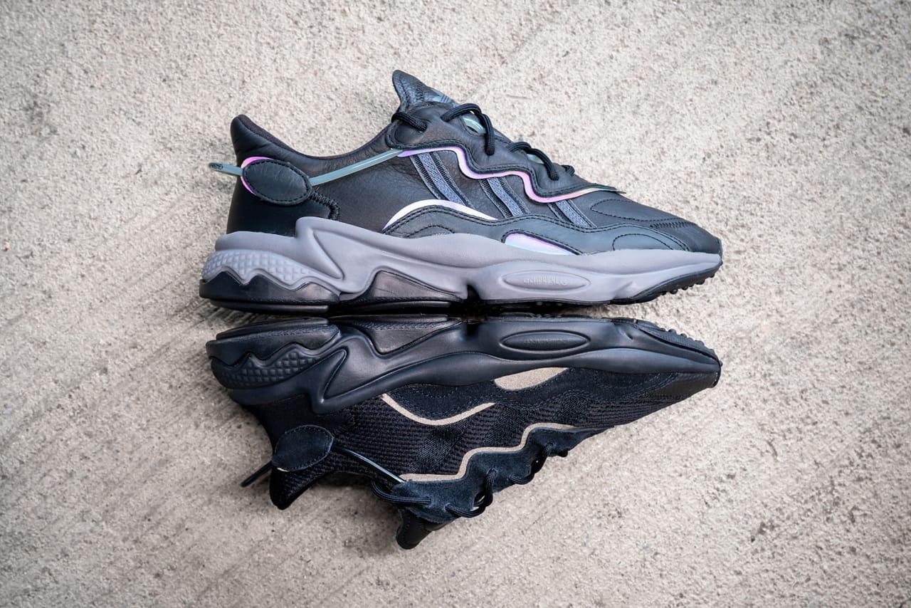 adidas OZ adiPRENE Black Leather/Xeno