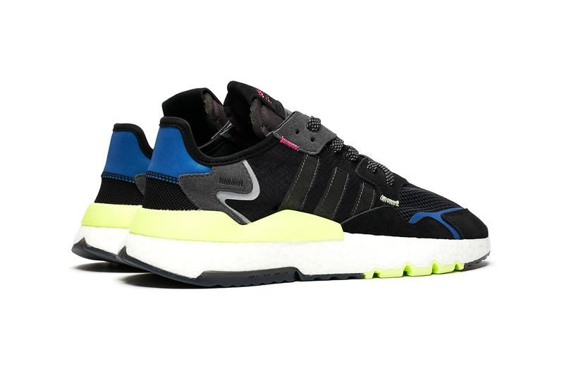 """adidas Originals Sneakersnstuff Nite Jogger Collaboration Party Oscar 1992 Campaign New York City """"How To Tackle NYC's Nightlife"""" Video"""