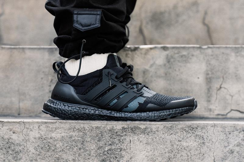 d35d6b44e7b UNDEFEATED x adidas Ultra Boost 1.0 Triple Black Reflective Closer First  Look Cop Purchase Buy Sneakers