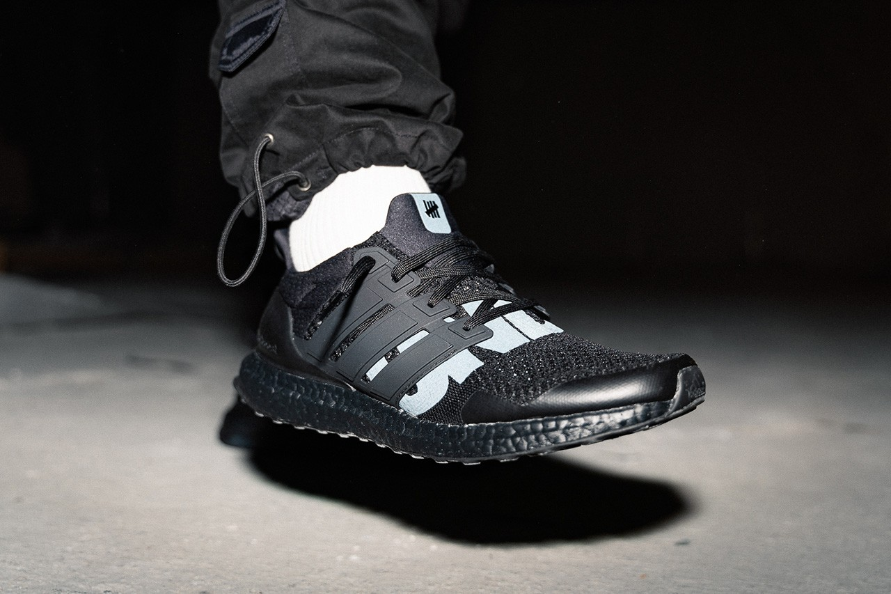 undefeated ultra boost on feet