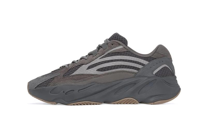 "adidas YEEZY BOOST 700 V2 ""Geode"" Now on StockX Official Look Closer Release Date Details Kanye West Black Grey Beige Sneaker Footwear Raffle Buy Cop Purchase resell marketplace detroit jush luber"