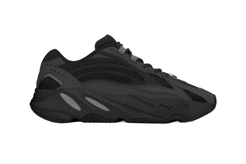 adidas Yeezy Boost 700 V2 Vanta Teaser kanye West Sneakers boost adidas  kicks black trainers fashion 6ba4ddd9b