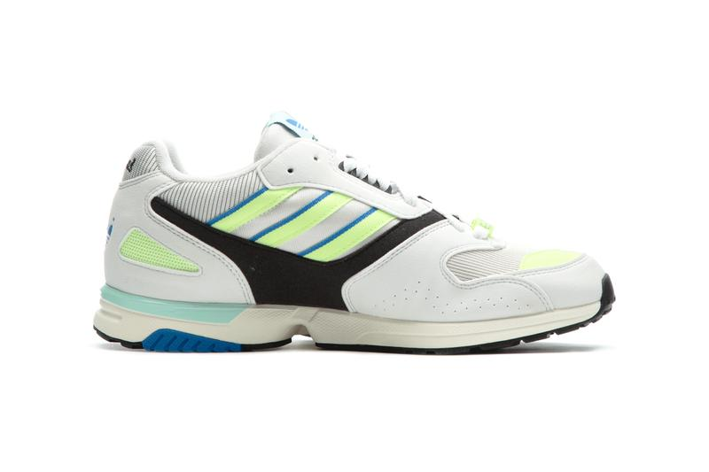4f991447e adidas ZX 4000 OG White Yellow Blue Release Info Cop Purchase Buy Sneakers  Trainers