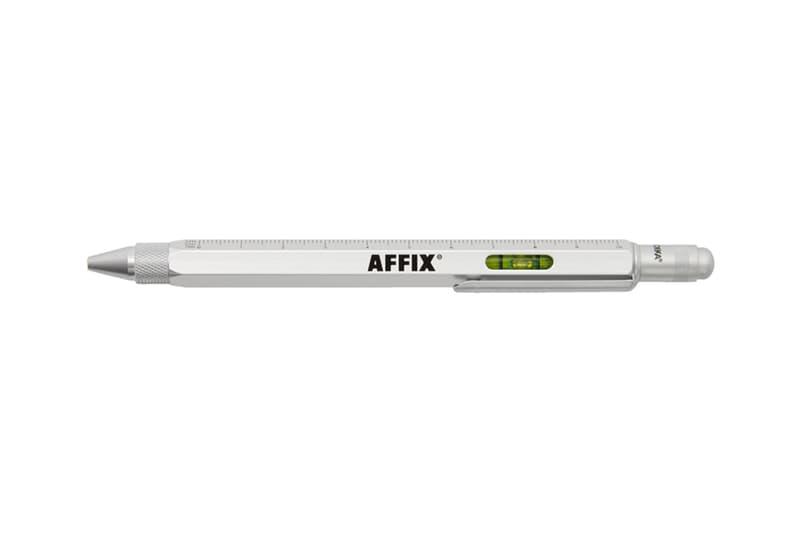 Affix Troika Architectural Multi Tool Pen Info collaboration design ballpoint