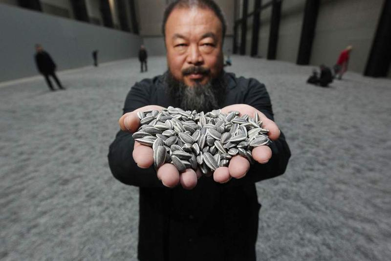 ai weiwei croydon button factory united kingdom installations artworks