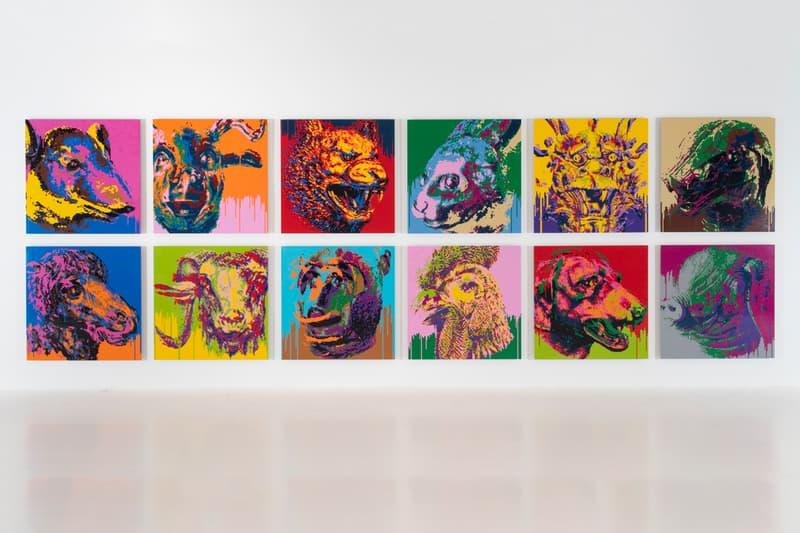 ai weiwei unbroken gardiner museum ceramics installations artworks paintings sculptures