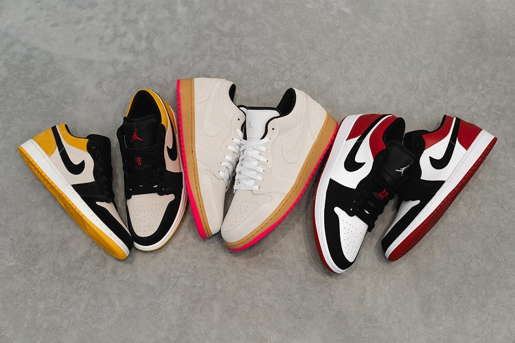 New Trio of Air Jordan 1 Lows Takes Inspiration From Skating Culture 06f3cd10a1