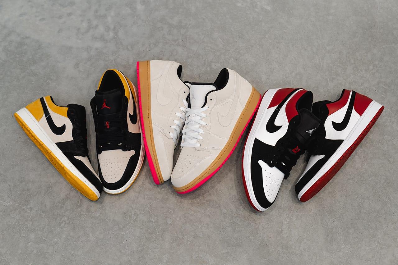 Air Jordan 1 Low Trio in Skate-Inspired