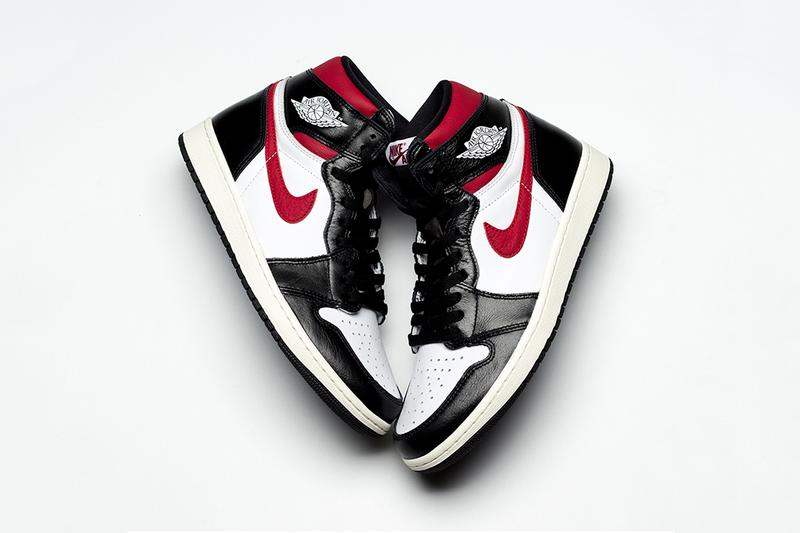 879083d3713 air jordan 1 retro high og 2019 june footwear jordan brand black white sail  gym red. 1 of 4. Sneaker Bar Detroit